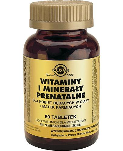SOLGAR 71 Witaminy i miner prenatal 60tabl