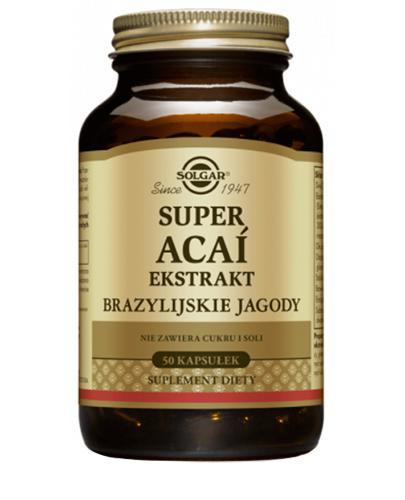 SOLGAR 92 Super ACAI Ekst brazyl jagody