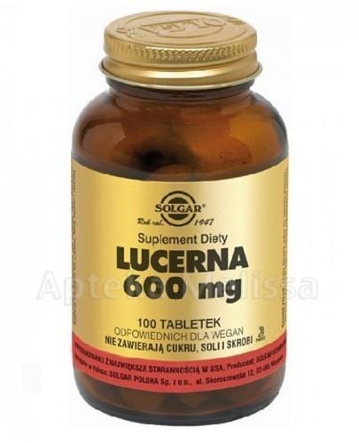 SOLGAR*108 Lucerna 0,6 g 100tabl.