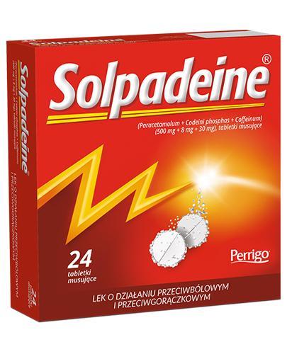 SOLPADEINE - 24 tabl. mus. Lek przeciwbólowy - cena, opinie, stosowanie