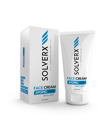 SOLVERX ATOPIC SKIN Krem do twarzy - 50 ml