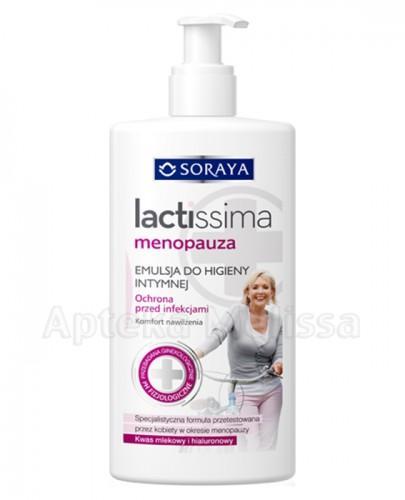 SORAYA LACTISSIMA MENOPAUZA Emulsja do higieny intymnej - 300 ml - Apteka internetowa Melissa