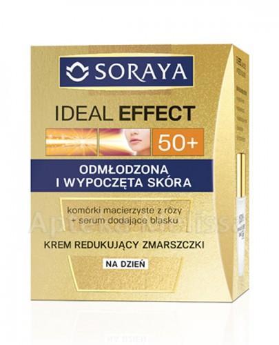 SORAYA IDEAL EFFECT 50+ Krem redukujący zmarszczki na dzień - 50 ml - Apteka internetowa Melissa