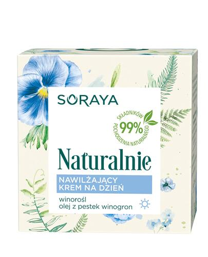 SORAYA NATURALNIE Nawilżający krem na dzień - 50 ml - cena, opinie, właściwości - Drogeria Melissa