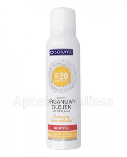 SORAYA Suchy arganowy olejek do opalania w sprayu SPF20  - 150 ml - Apteka internetowa Melissa