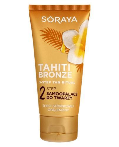 SORAYA TAHITI BRONZE 2 Step Samoopalacz do twarzy - 50 ml - cena, stosowanie, opinie