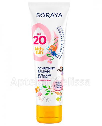 SORAYA KIDS SUN SPF20 Wodoodporny balsam do opalania dla dzieci - 100 ml - Apteka internetowa Melissa