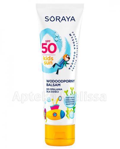 SORAYA KIDS SUN SPF50 Wodoodporny balsam do opalania dla dzieci - 100 ml - Apteka internetowa Melissa