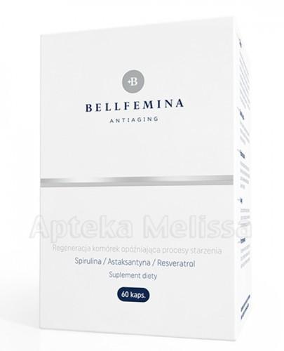 SPIROPHARM Bellfemina antiaging regeneracja komórek opóźniająca procesy starzenia - 60 kaps. - Apteka internetowa Melissa