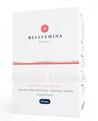 SPIROPHARM Bellfemina beauty piękna skóra, włosy i paznokcie - 60 kaps.