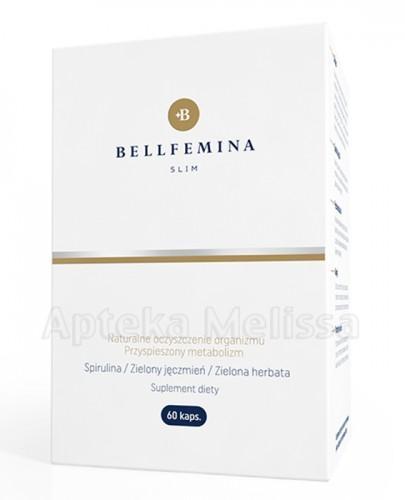 SPIROPHARM Bellfemina slim naturalne oczyszczenie organizmu, przyspieszony metabolizm - 60 kaps. - Apteka internetowa Melissa