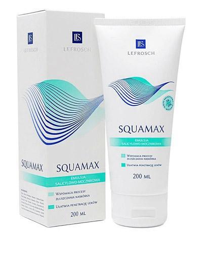 SQUAMAX Emulsja wspomagająca procesy złuszczania naskórka - 200 ml - Drogeria Melissa