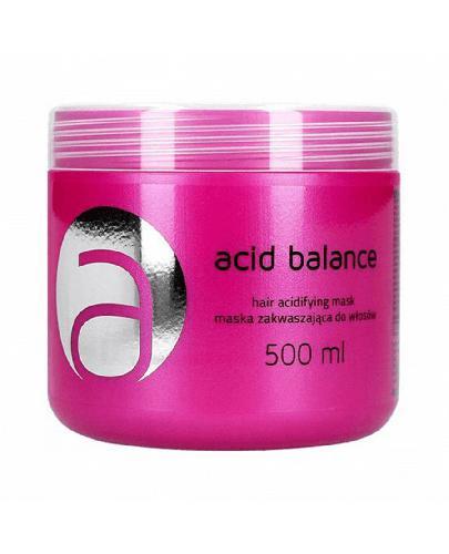 Stapiz Acid Balance Maska zakwaszająca do włosów - 500 ml - cena, opinie, właściwości - Drogeria Melissa