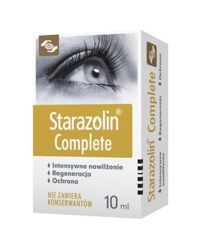 STARAZOLIN COMPLETE Krople do oczu - 10 ml - Apteka internetowa Melissa