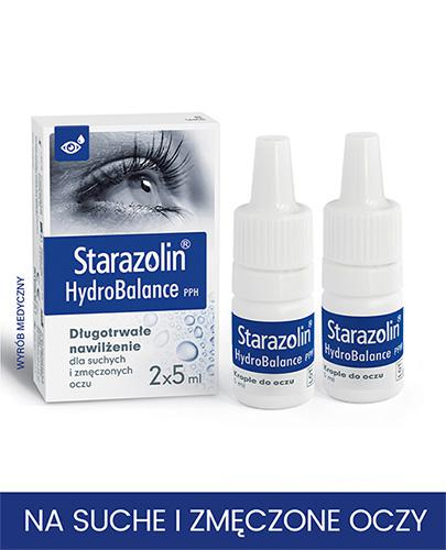 STARAZOLIN HYDROBALANCE Krople do oczu - 2 x 5 ml - Drogeria Melissa