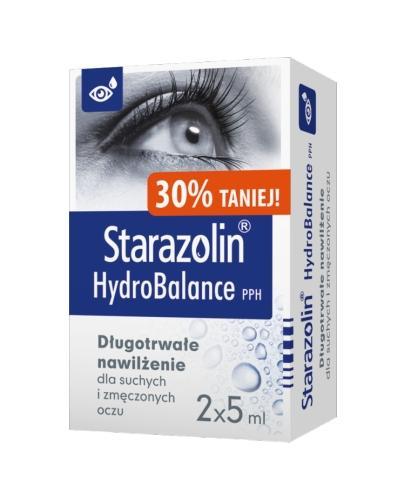 STARAZOLIN HYDROBALANCE Krople do oczu - 2 x 5 ml - Apteka internetowa Melissa