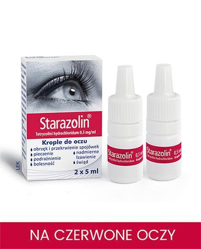 STARAZOLIN Krople do oczu - 2 x 5 ml  - Apteka internetowa Melissa
