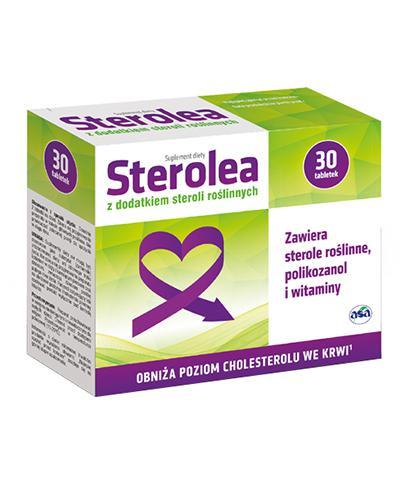 STEROLEA - 30 tabl.  - Drogeria Melissa