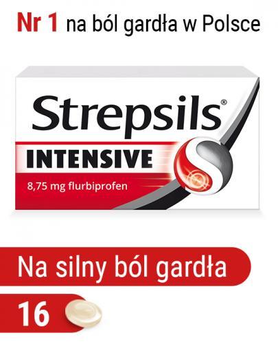 STREPSILS INTENSIVE - 16 past. - Apteka internetowa Melissa