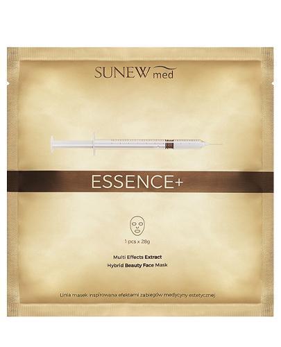 Sunew med+ Essence+ Maska hybrydowa z peptydami i śluzem ślimaka - 1 szt. - cena, opinie, skład - Apteka internetowa Melissa