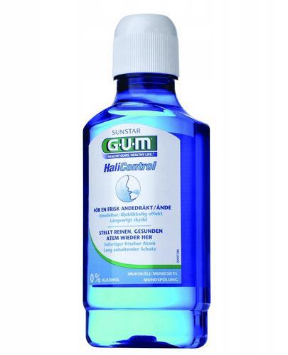 SUNSTAR GUM HALICONTROL Płyn do płukania jamy ustnej - 300 ml - cena, stosowanie, opinie  - Drogeria Melissa