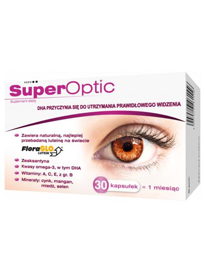 SUPEROPTIC - 30 kaps - Drogeria Melissa