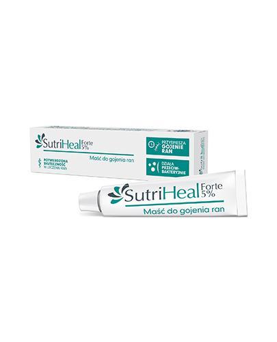 SUTRIHEAL FORTE 5% - maść na zakażone rany - 15 g - cena, opinie, stosowanie - Apteka internetowa Melissa