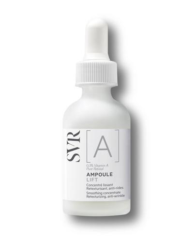 SVR A AMPOULE LIFT Wygładzający koncentrat przywracający strukturę, przeciwzmarszczkowy - 30 ml - cena, opinie, właściwości
