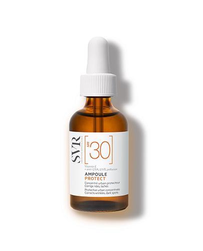 SVR Ampoule Protect Ochronne serum w ampułce SPF30 - 30 ml Serum przeciwzmarszczkowe - cena, opinie, właściwości - Drogeria Melissa