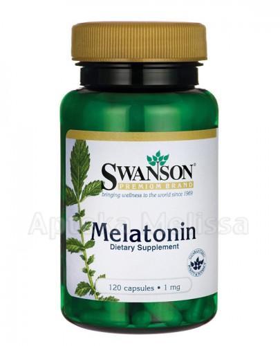 SWANSON Melatonina 1000 mcg - 120 kaps.  - Apteka internetowa Melissa