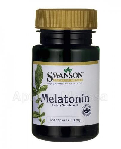 SWANSON Melatonina 3 mg - 120 kaps. - Apteka internetowa Melissa