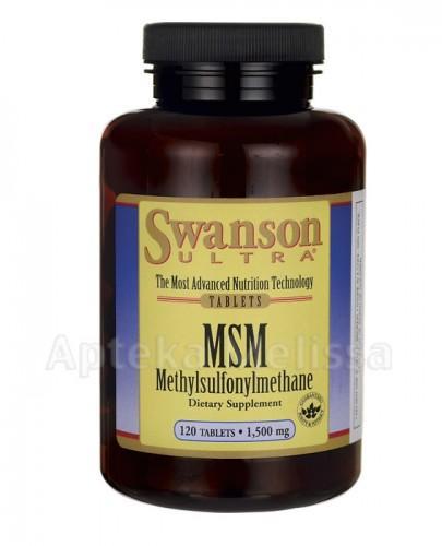 SWANSON MSM TruFlex 1500mg - 120 tabl.