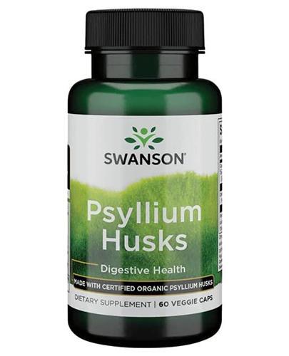 SWANSON Organic psyllium husk - 60 kaps.  - Apteka internetowa Melissa