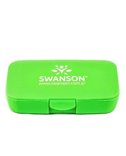 SWANSON Pill Box - Kasetka na tabletki (zielona) - 1 szt - Apteka internetowa Melissa