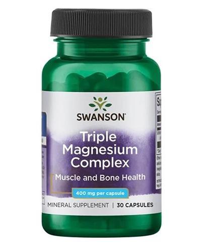 SWANSON Triple Magnesium Complex - 30 kaps. - Apteka internetowa Melissa