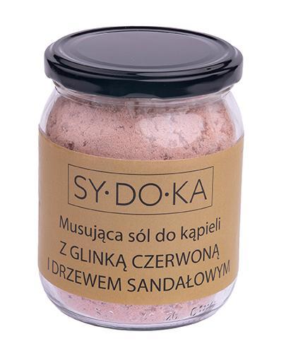 Sydoka Musująca sól do kąpieli z glinką czerwoną i drzewem sandałowym - 500 g - cena, opinie, właściwości - Apteka internetowa Melissa