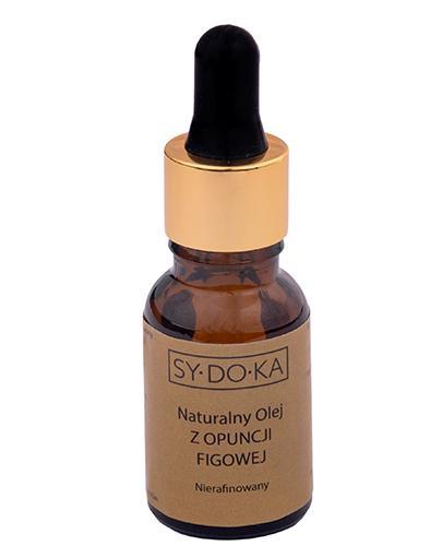 Sydoka Naturalny olej z opuncji figowej Nierafinowany - 10 ml - cena, opinie, stosowanie - Apteka internetowa Melissa