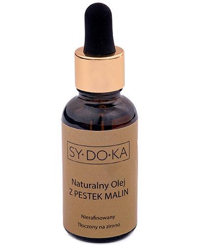 Sydoka Naturalny olej z pestek malin - 30 ml - cena, opinie, właściwości