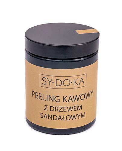 Sydoka Peeling kawowy z drzewem sandałowym - 180 ml - cena, opinie, skład - Apteka internetowa Melissa