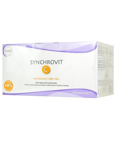 SYNCHROLINE SYNCHROVIT C Serum - 6 x 5 ml  - Apteka internetowa Melissa