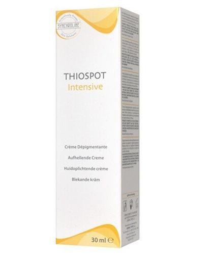 SYNCHROLINE THIOSPOT INTENSIVE Krem do skóry z przebarwieniami - 30 ml  - Drogeria Melissa