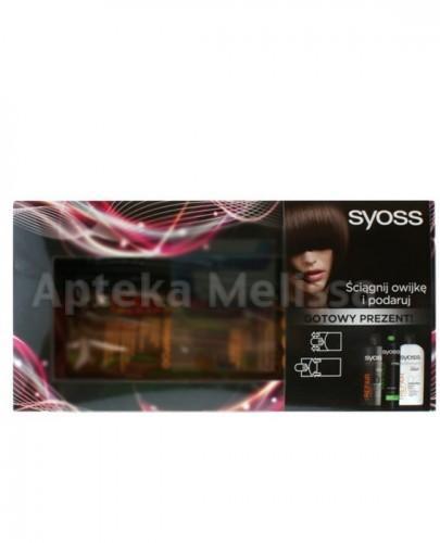 SYOSS REPAIR Szampon - 500 ml + Odżywka - 500 ml + Max Hold lakier - 300 ml + Kosmetyczka  - Apteka internetowa Melissa