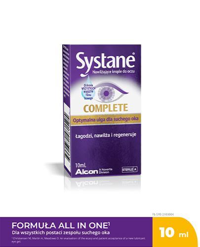 SYSTANE COMPLETE Nawilżające krople do oczu - 10 ml - Apteka internetowa Melissa