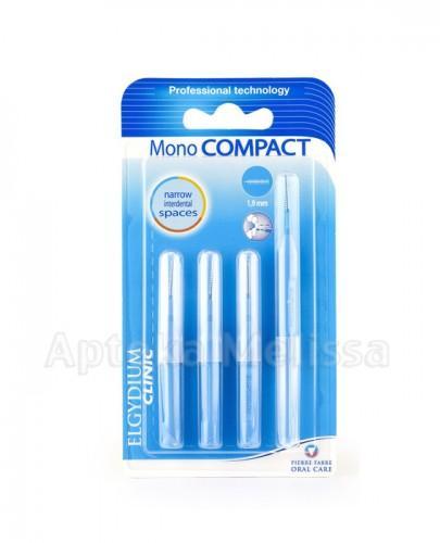 ELGYDIUM Clinic Mono Compact szczoteczki międzyzębowe niebieskie 1,9 mm - 1 szt. - Apteka internetowa Melissa