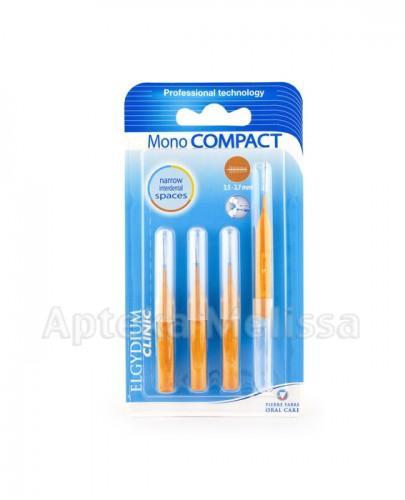 ELGYDIUM Clinic Mono Compact szczoteczki międzyzębowe pomarańczowe  3,5 - 2,7 mm - 1 szt. - Apteka internetowa Melissa