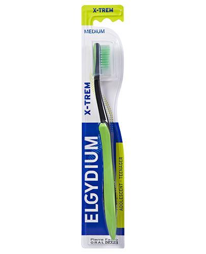 ELGYDIUM XTREM Medium szczoteczka do zębów dla młodzieży - 1 szt. - Apteka internetowa Melissa