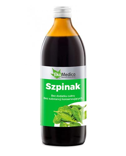 EKAMEDICA Szpinak sok - 500 ml - Apteka internetowa Melissa