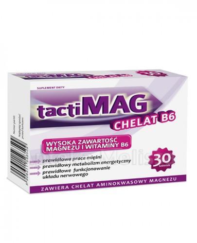 TACTIMAG CHELAT B6 - 30 tabl. - Apteka internetowa Melissa