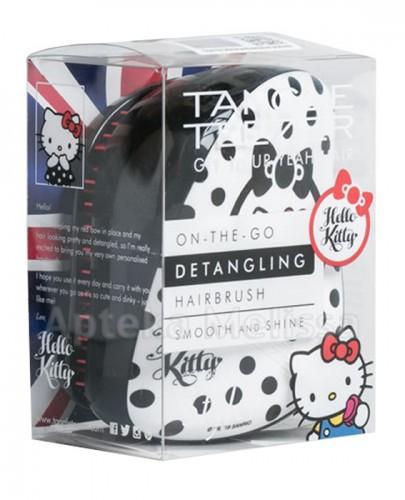 TANGLE TEEZER COMPACT STYLER Szczotka do włosów Hello Kitty czarno-biała - 1 szt.