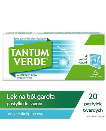 TANTUM VERDE Smak eukaliptusowy - 20 past.